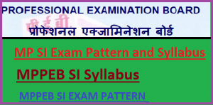 MP SI Syllabus 2019